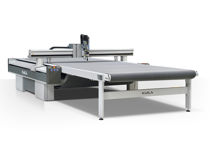 CNC Linear Cutter with Outfeed